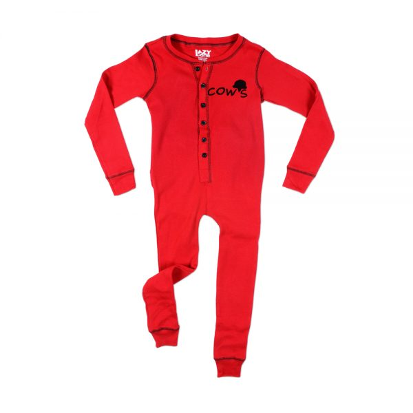 Red Unisex Cow's Flapjack