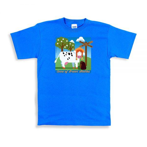 Sapphire Unisex Green Stables T-Shirt