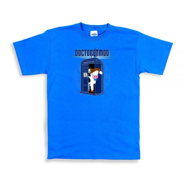 Sapphire Unisex Dr. Moo T-Shirt