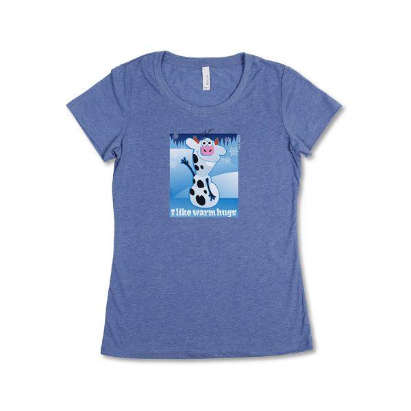 Blue Girl's Frozen Mini T-Shirt