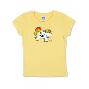 Yellow Women's Cowy T-shirt