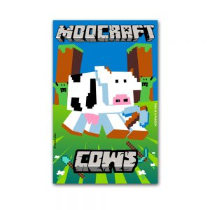 Cows Moocraft Postcard