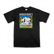 Black Unisex Moocraft T-Shirt