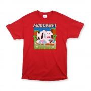 Red Unisex Moocraft T-Shirt