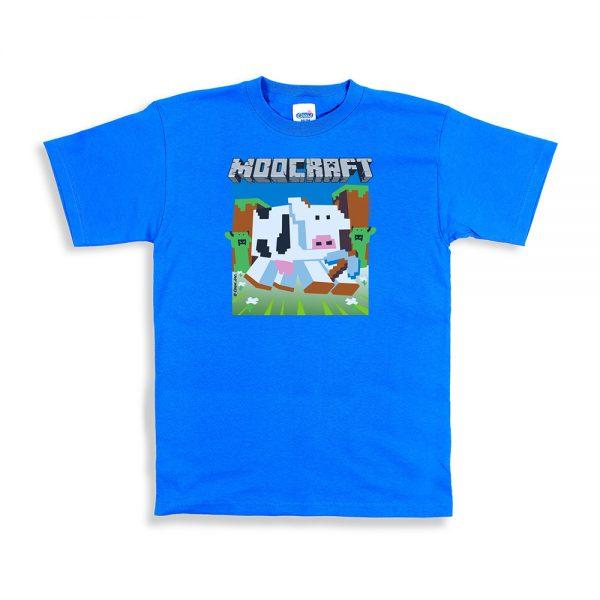 Sapphire Unisex Moocraft T-Shirt