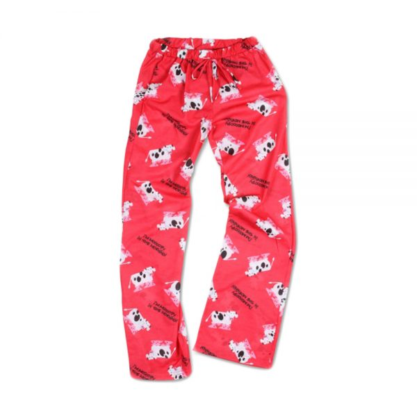 Red Unisex Moody PJ Pants