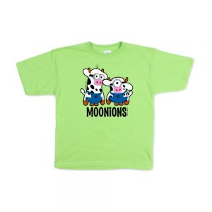 Lime Green Youth Moonion T-shirt