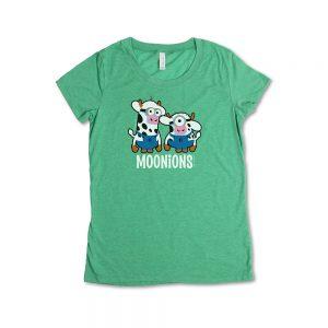 Green Girl's Moonions Mini T-Shirt