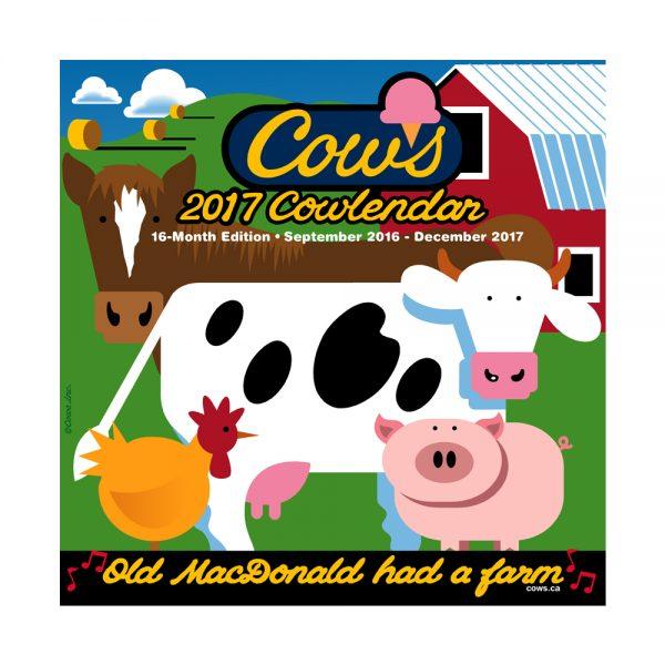Cows 2017 Mini Cowlendar