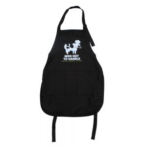 Moo Hot To Handle Apron