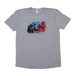 Grey BatCow T-Shirt