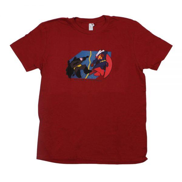 Red BatCow T-Shirt