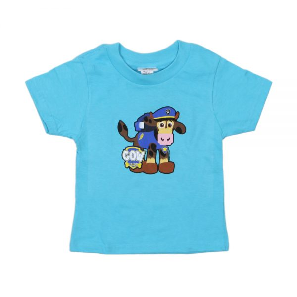 Blue Cow Patrol T-Shirt