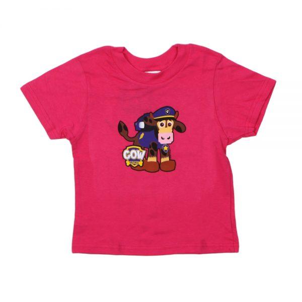 Pink Cow Patrol T-Shirt