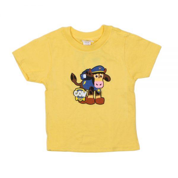Yellow Cow Patrol T-Shirt