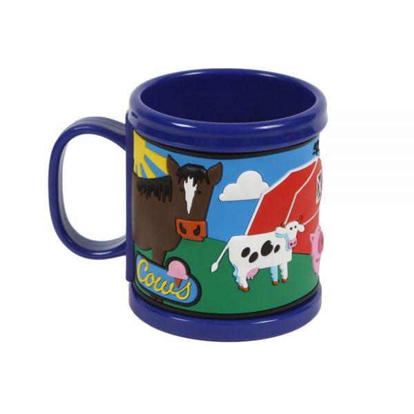 Blue COWS Mug