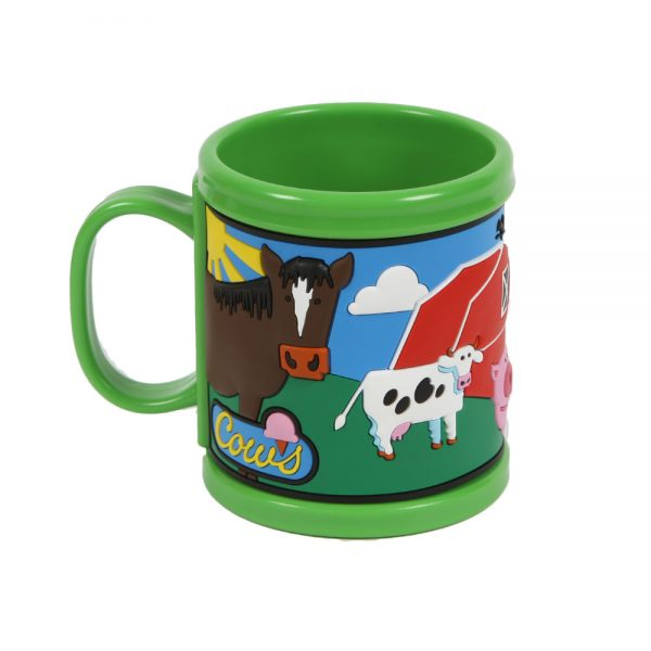 Green COWS mug