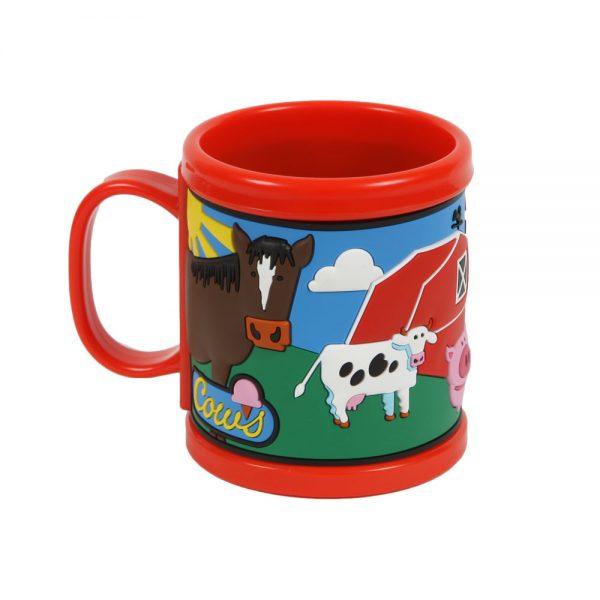 Red COWS Mug