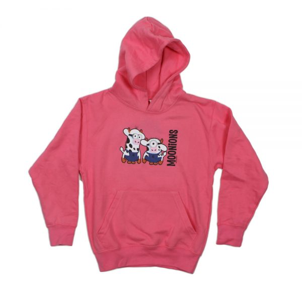 Pink Moonion Youth Hoodie