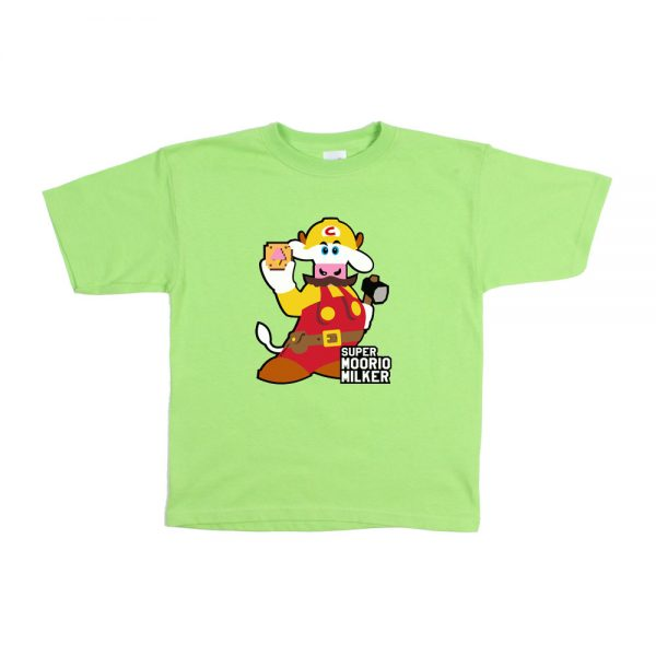 Lime Moorio Youth T-Shirt