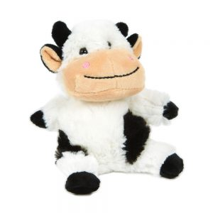 Smiley Plush Cow