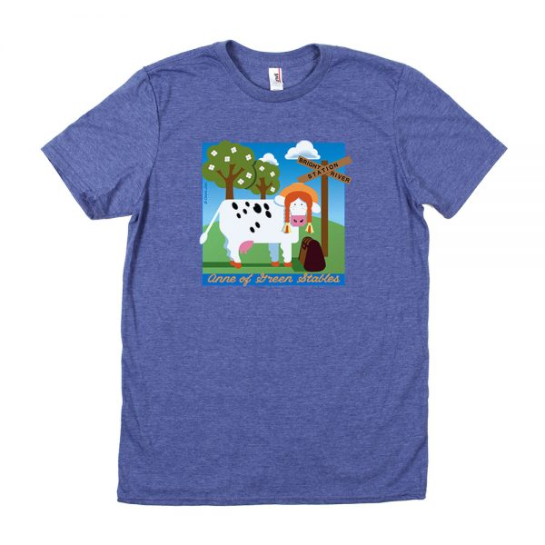 Blue Anne Of Green Stables T-Shirt