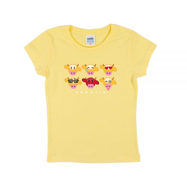 Yello Emooji Girly T-Shirt
