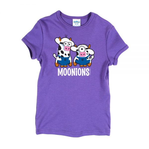 Purple Youth Moonions Girly T-Shirt