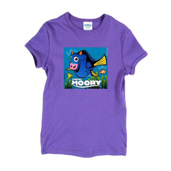 Purple Finding Moory T-Shirt