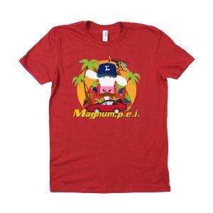 Red Magnum PEI T-Shirt