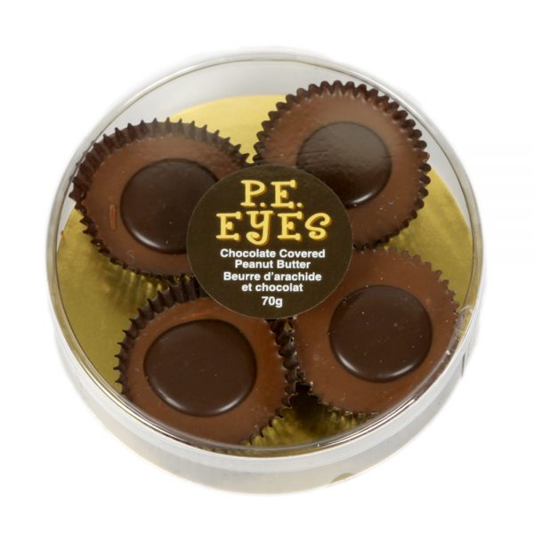 P.E. Eyes Chocolate Covered Peanut Butter