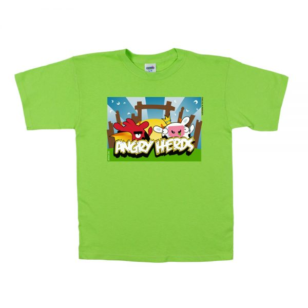 Lime Angry Herd T-Shirt