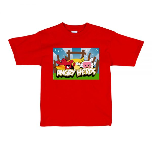 Red Angry Herds T-Shirt
