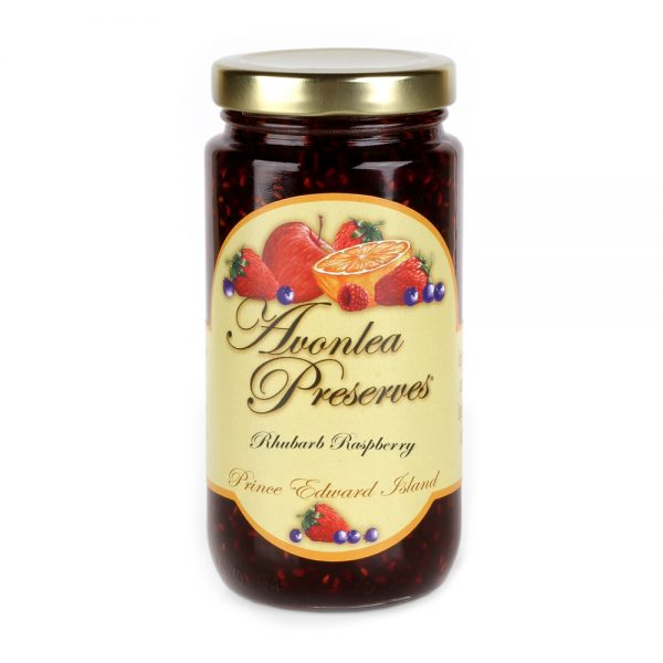 Avonlea Preserves Rhubarb Raspberry Jam