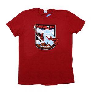 Red Canada 150 Anniversary T-Shirt
