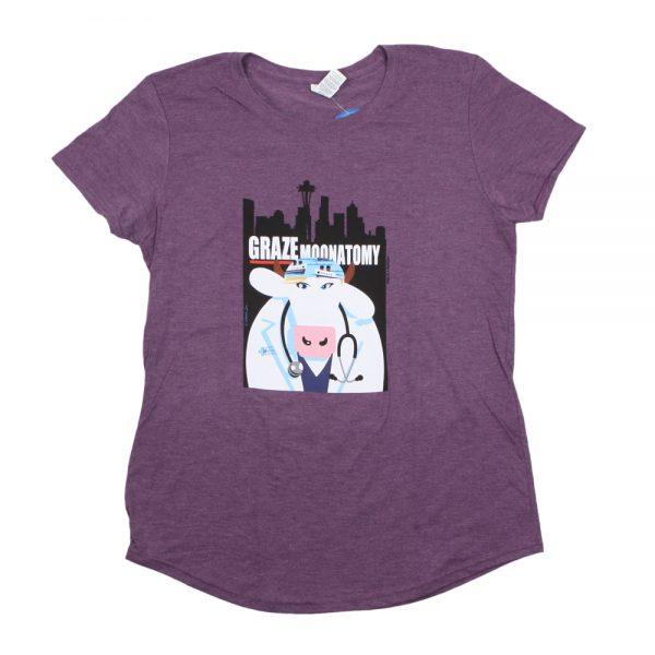 Purple Graze Moonatomy T-Shirt