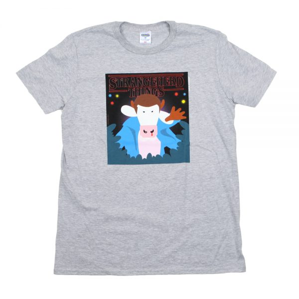 Grey Strangeherd Things T-Shirt