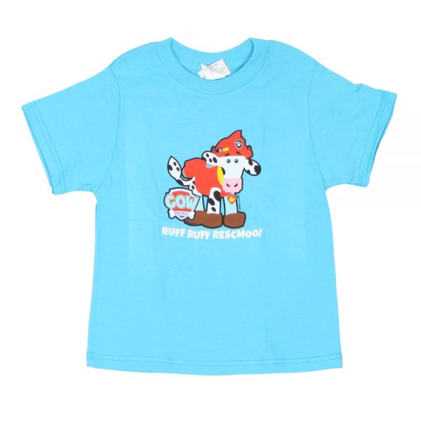 COW PATROL MARSHALL KIDS T BLUE