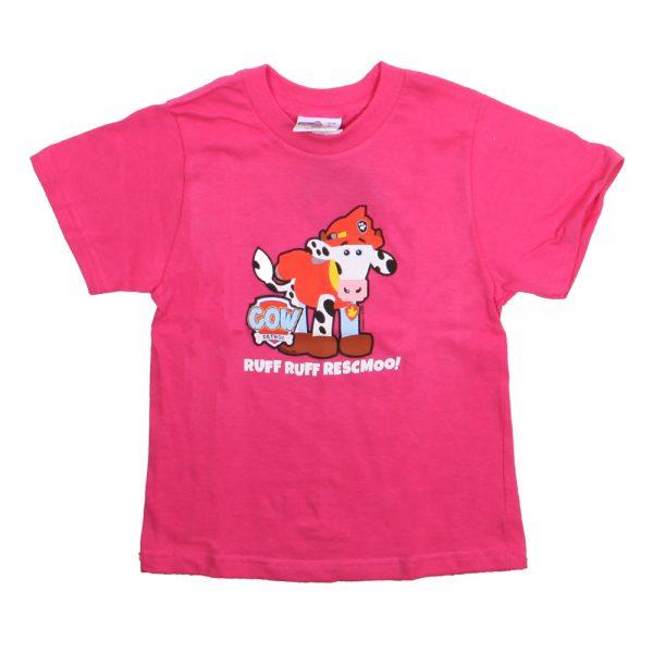 COW PATROL MARSHALL KIDS T PINK