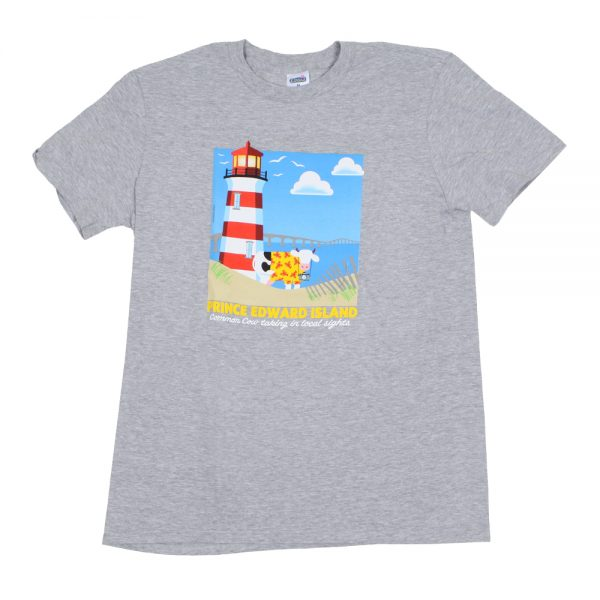 Lighthouse T Grey