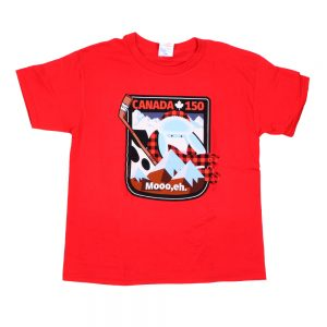 Canada 150 Youth T Red
