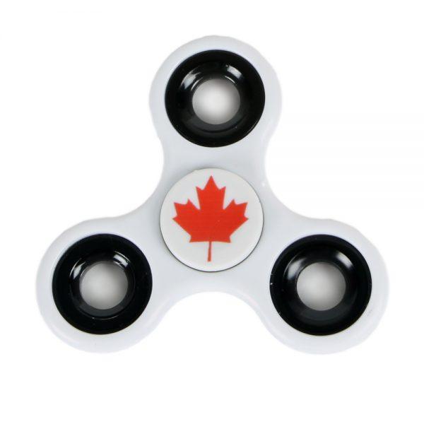 Canada Fidget Spinner White
