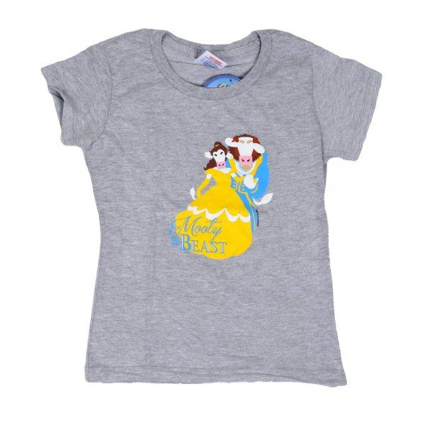 Mooty & The Beast Girly T Grey