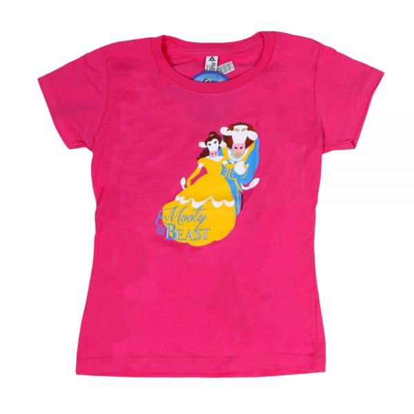Mooty & The Beast Girly T Pink