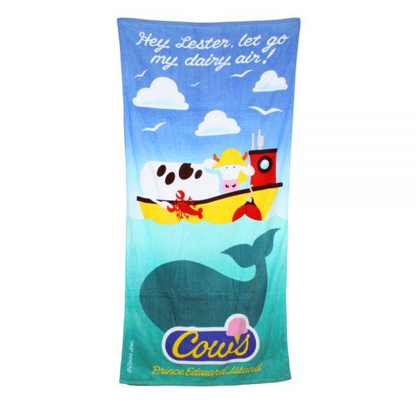 COWS Fisherman Beach Towel