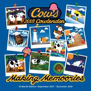 2018 Wall Cowlendar