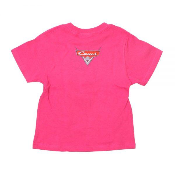 Cars Kids T Pink Back
