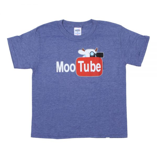 MooTube Youth T Blue