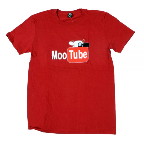 MooTube Adult T Red