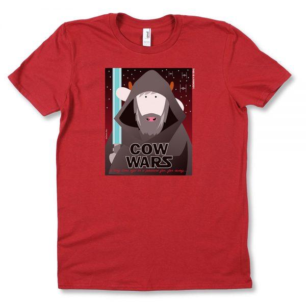COWWars Luke T-Shirt Red